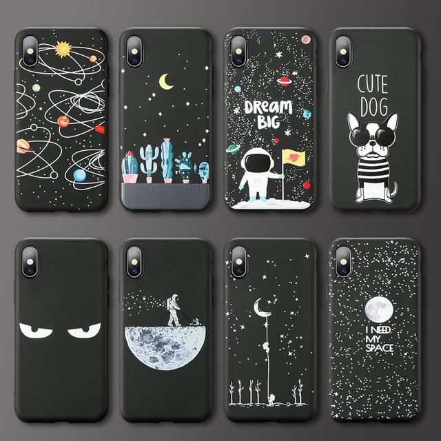 NORTHFIRE Starry cartoon pattern Case For Samsung S10 S10e S10 Plus Case For Samsung M10 M20 A6S A8S J4 J6 Cute Cover Capa Funda