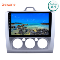 Seicane 10.1 inch Android 8.1 Car Radio For Ford Focus 2 Exi MT 2004 2005 2006 2007 2008 2009 2011 2Din GPS Multimedia Player