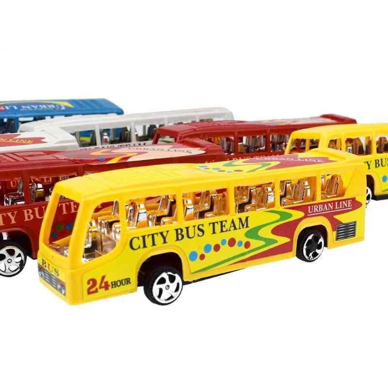 พลาสติกรถของเล่นเด็กเด็ก Racing ดึงกลับรถบรรทุกรถบรรทุกรถเด็กของขวัญของเล่นยานพาหนะสำหรับการศึกษาเด็กคริสต์มาสของขวัญ