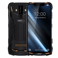 Original Ip68 Doogee S90 4g Mobile Phone Waterproof Shockproof 5050mah 6.18'' Mt6671 6gb 128gb Smartphone 16mp Camera Cell Phone