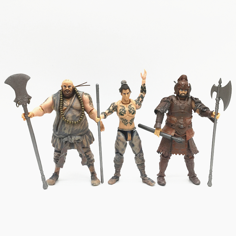 Water Margin 3.75 -inch Super cable/ Priest Hwa/action figure a birthday present collection model toys S-0203040 цены