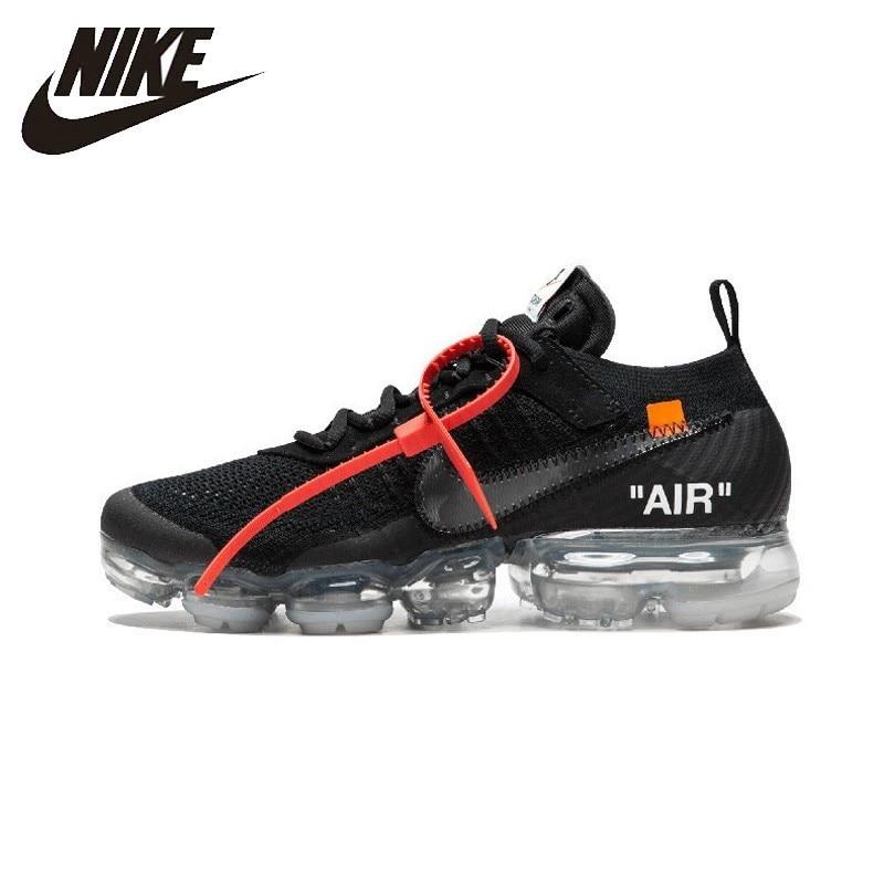 NIKE Off White X Air Vapor Max OW унисекс кроссовки для бега обувь супер легкие удобные кроссовки для Мужская # AA3831