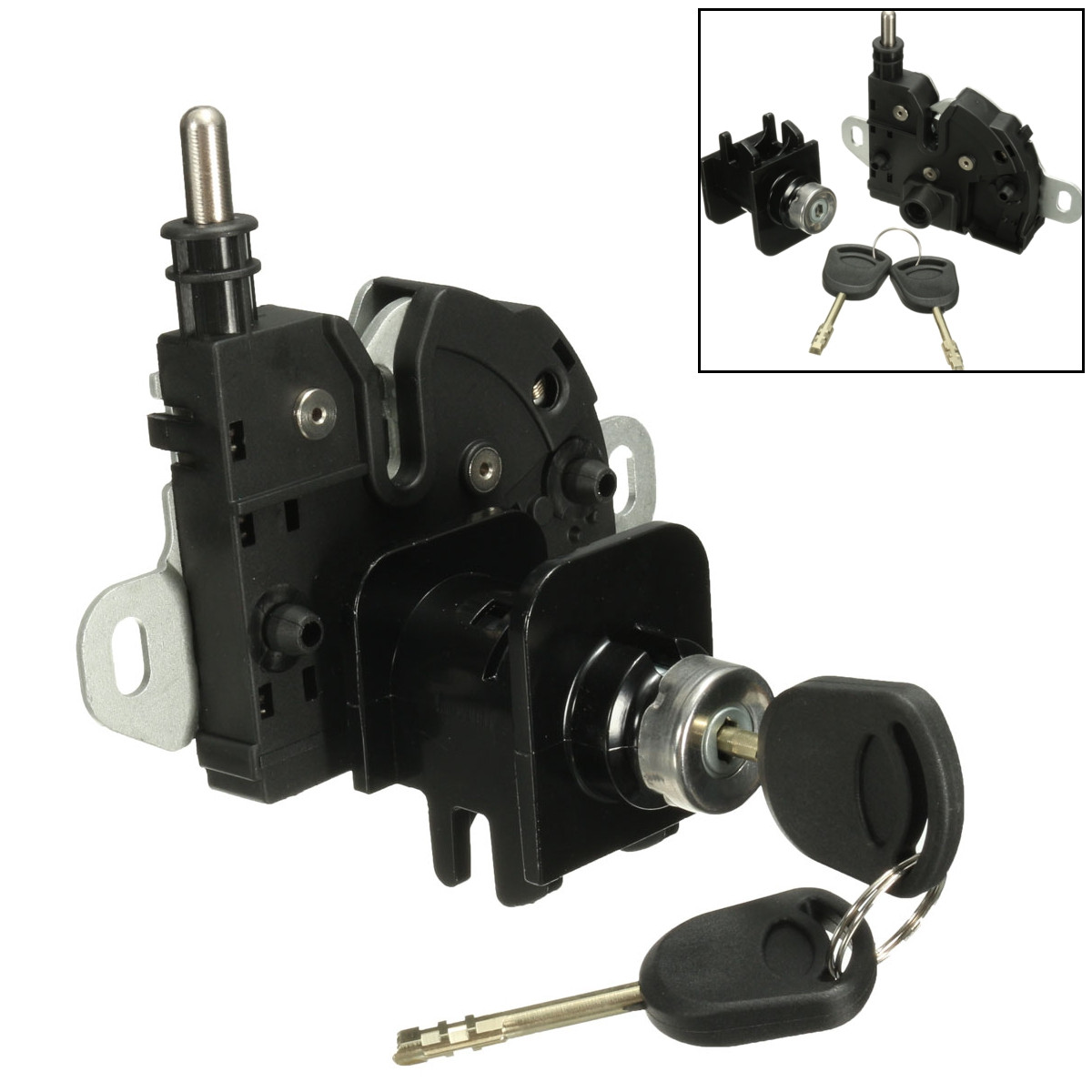 Bonnet Hood Lock Latch with 2 Keys With 2 Keys Set For Ford-Transit-MK6 2000 2001 2002 2003 2004 2005 2006 412428Bonnet Hood Lock Latch with 2 Keys With 2 Keys Set For Ford-Transit-MK6 2000 2001 2002 2003 2004 2005 2006 412428
