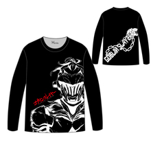 Hot Anime Goblin Slayer Tops Unisex Cosplay dress children Long sleeve T shirt Tees