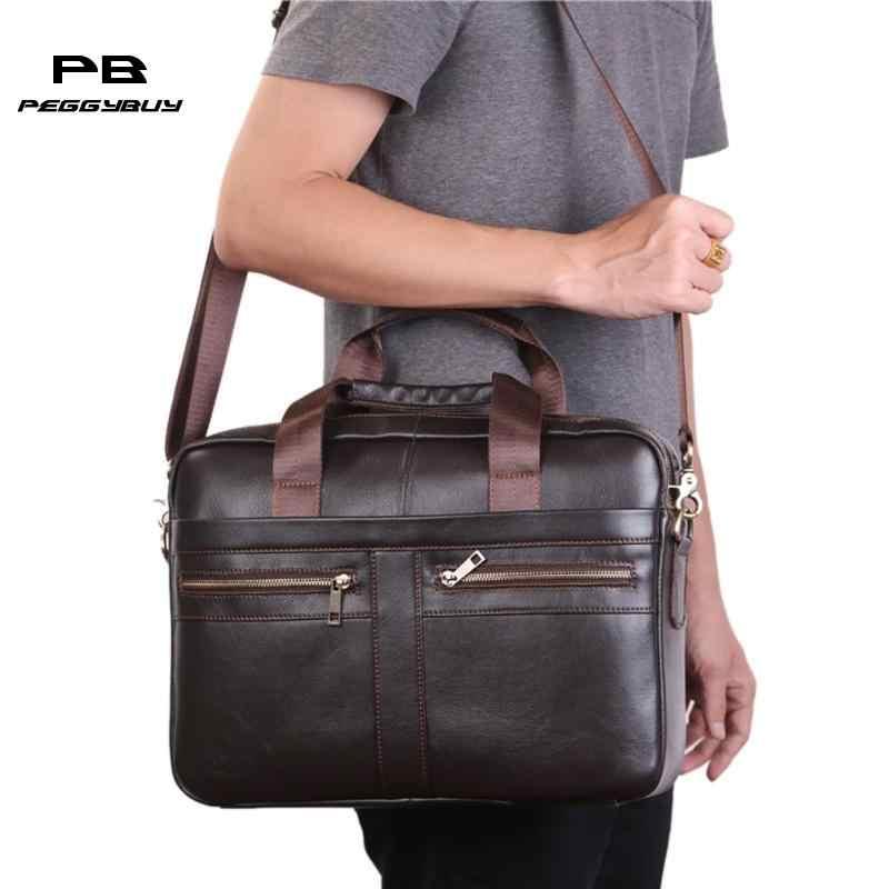 كبيرة الرجال محمول حقائب تجارية (سابقا) الكتف Crossbody رسول حقيبة