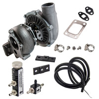 T04E T3/T4 .63 A/R 57 Trim Turbo Charger + 38mm Wastegate + Boost Controller kit