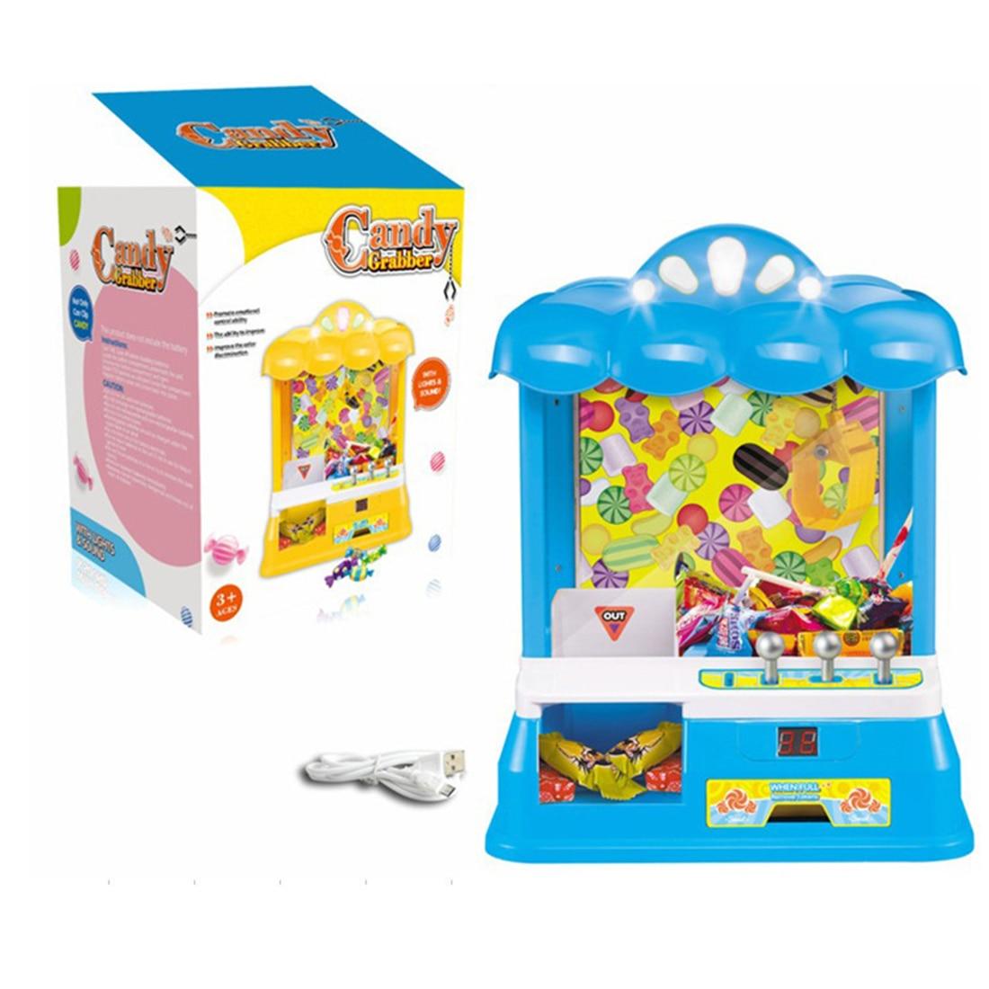 Enfants Mini bonbons Grabber bureau reharging jouet griffe Machine Arcade prix jeu amusant attraper Grabber nouveauté et Gag jouets - 2