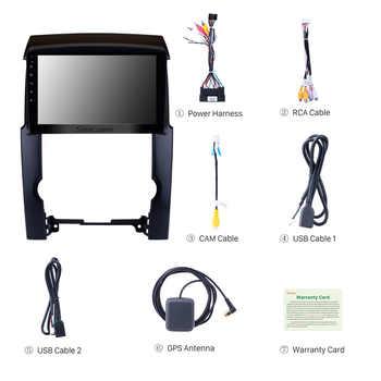 "Seicane 2din 2.5D Screen 10.1\"" Android 8.1 Quad-core Car GPS Navigation Radio For 2009 2010 2011 2012 KIA Sorento support TPMS"