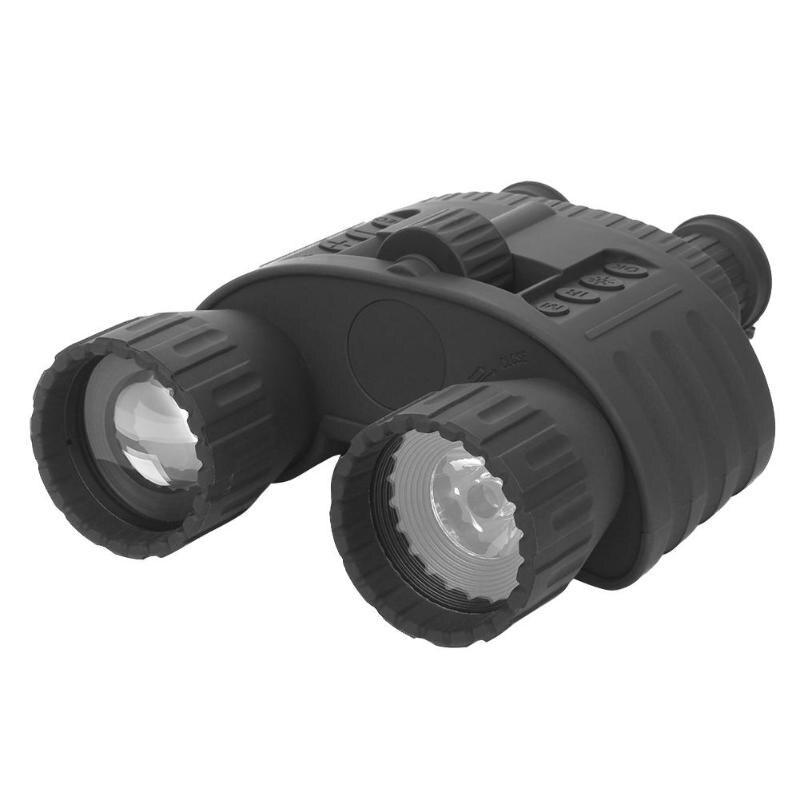 Portable 4X50 Zoom infrarouge Vision nocturne télescope binoculaire 200 m grand écran enregistreur vidéo pour randonnée en plein air chasse visualisation
