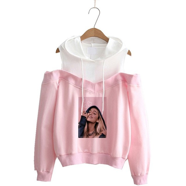 85315080f Ariana Grande hoodie 2019 Sweatshirt Hoodie Women Print Harajuku God Is A Woman  Sweatshirts Pullover Cewneck Warm Tops