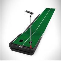 PGM клюшка для гольфа в помещениях тренер практика набор Тренировочный Коврик Гольф Клюшка регулируемый наклон мульти функция расширение по