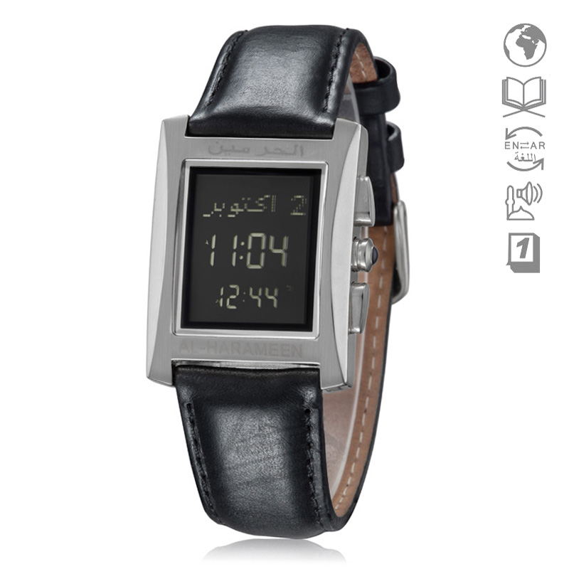 Men's Watches Beautiful Neon Color Fashion Azan Watch For Muslim Kids 32mm 3 Bar Atm 6506 Wy16 Islamic Clock With Automatic Qibla Direction For Students Moderate Price