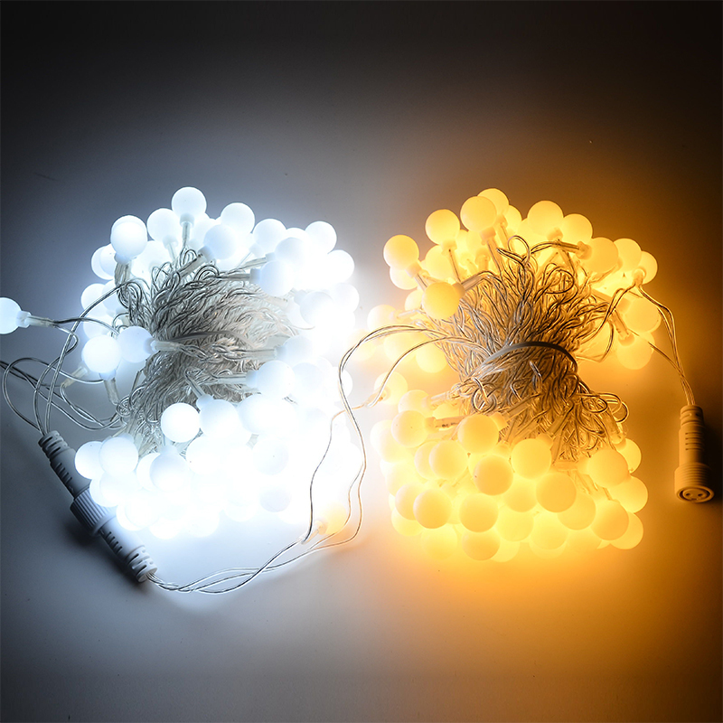 10m tela LED tela dritë të papërshkueshëm nga uji dekorimi IP46 - Ndriçimi i pushimeve - Foto 6