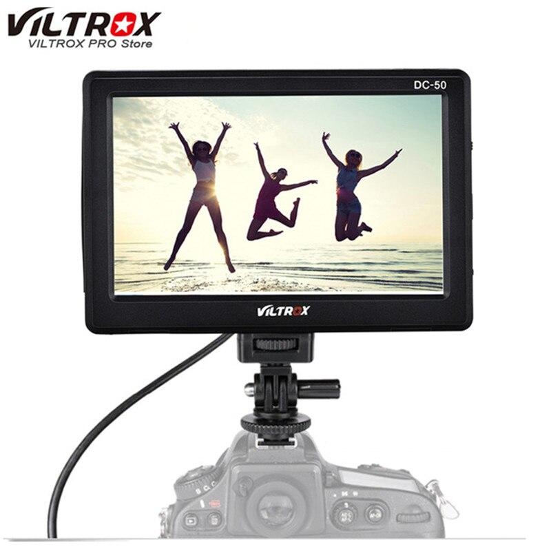 Viltrox DC-50 5 pouces Écran 480 P Clip-Sur Couleur Portable écran lcd HDMI Pour Appareil Photo accessoires de studio photo Pour Canon Nikon sony