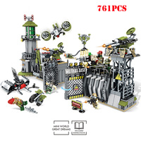 Swat War Building Blocks Compatible Military Weapon Legoed City World War Army Enlighten Bricks Toys For Children Gift WJ009