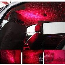Mini Carro USB LED Luz Decoração para Toyota Corolla Yaris RAV4 Honda Civic Accord CRV Fit Nissan Qashqai Juke X -trail Tiida BMW