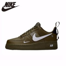 NIKE New Arrival AIR FORCE 1'07 AF1 Breathable Utility Men Running Shoes Low Comfortable Sneakers #AJ7747 цена