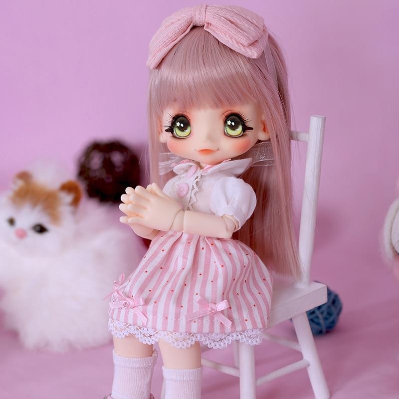 BJD SD Kinoko jus Kiki 1/6 belle purée de canard une main supplémentaire YoSD corps Cocoriang modèle filles jouets Luts résine Figures Oueneifs