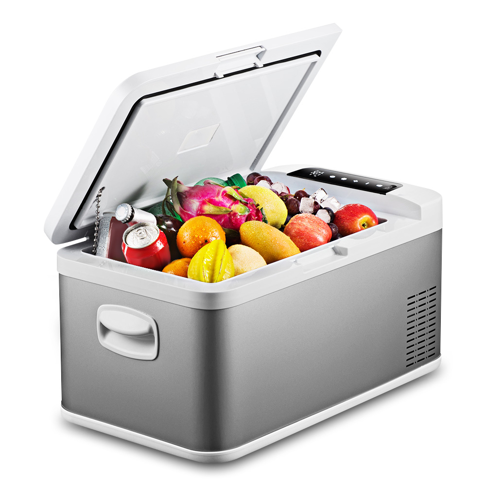 18L Portable Refrigerator for Car Home Picnic Camping Party Large Capacity Touch Screen Control Easy for Moving AC/DC 100 240V