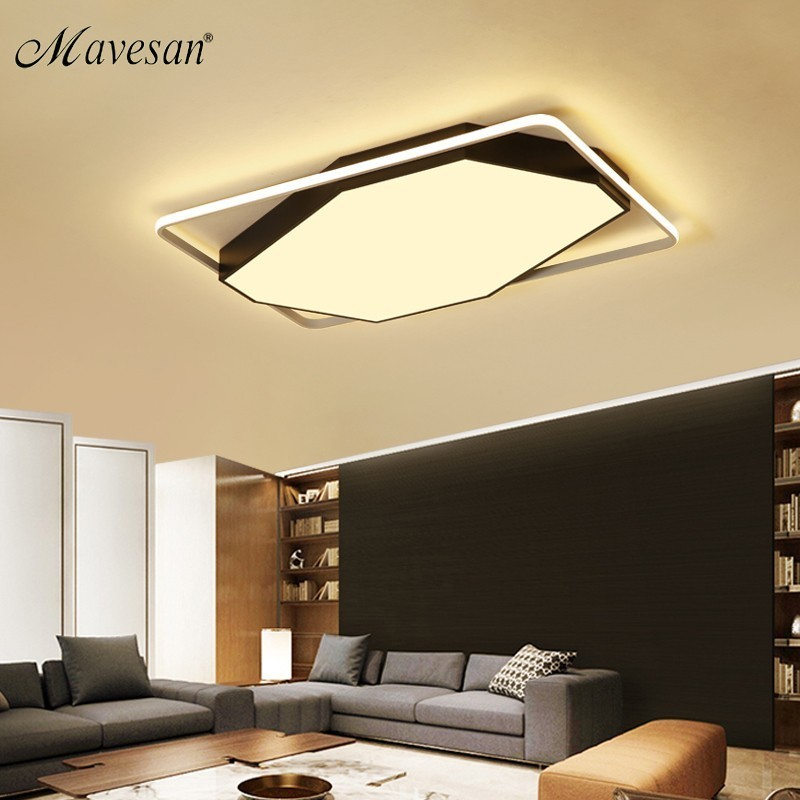 New Acrylic ceiling lights surface mount for bedroom support 110V and 220V Remote control led lamps home decoration luminaireNew Acrylic ceiling lights surface mount for bedroom support 110V and 220V Remote control led lamps home decoration luminaire