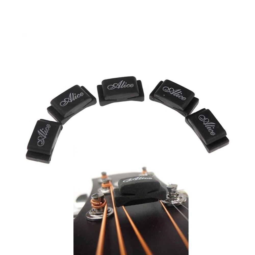 alice 5pcs guitar picks black rubber pick holder fix on headstock for guitar bass ukelele high. Black Bedroom Furniture Sets. Home Design Ideas