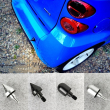 цена на Car Rear Bumper Spike Guard Protector For Benz SMART Fortwo W 451 W451 2008-2014 Anti Collision 2009 2010 2011 2012 2013