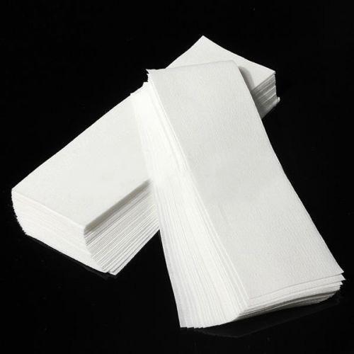 80 Pcs Hair Removal Depilatory Nonwoven Epilator Wax Strip Paper Roll Waxing