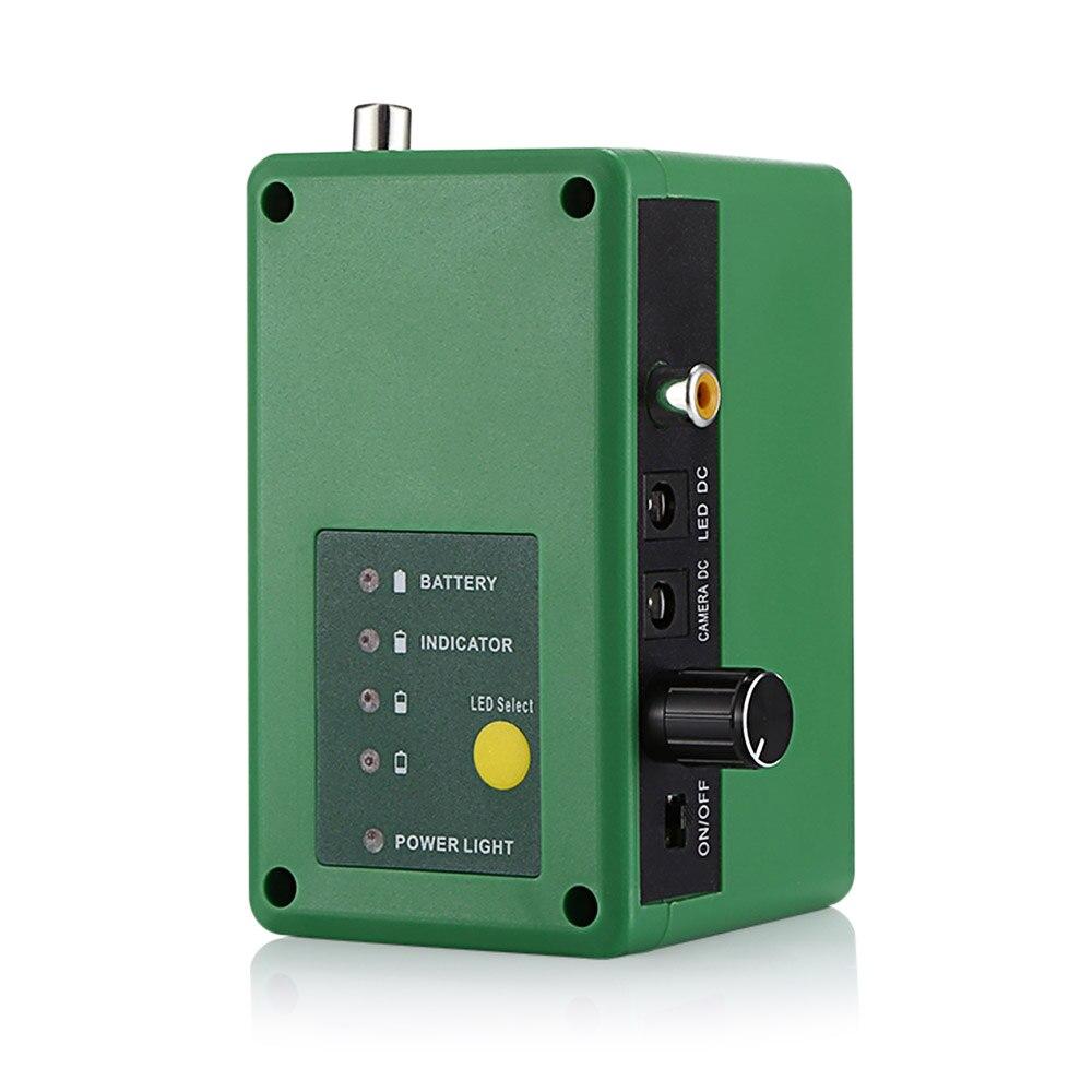 7.0 pouces HD 1000TVL sous-marin poisson trouveur caméra de pêche vidéo pêche vidéo caméra Kit 15 pièces blanc LEDs Fishfinder 15 m gamme - 4