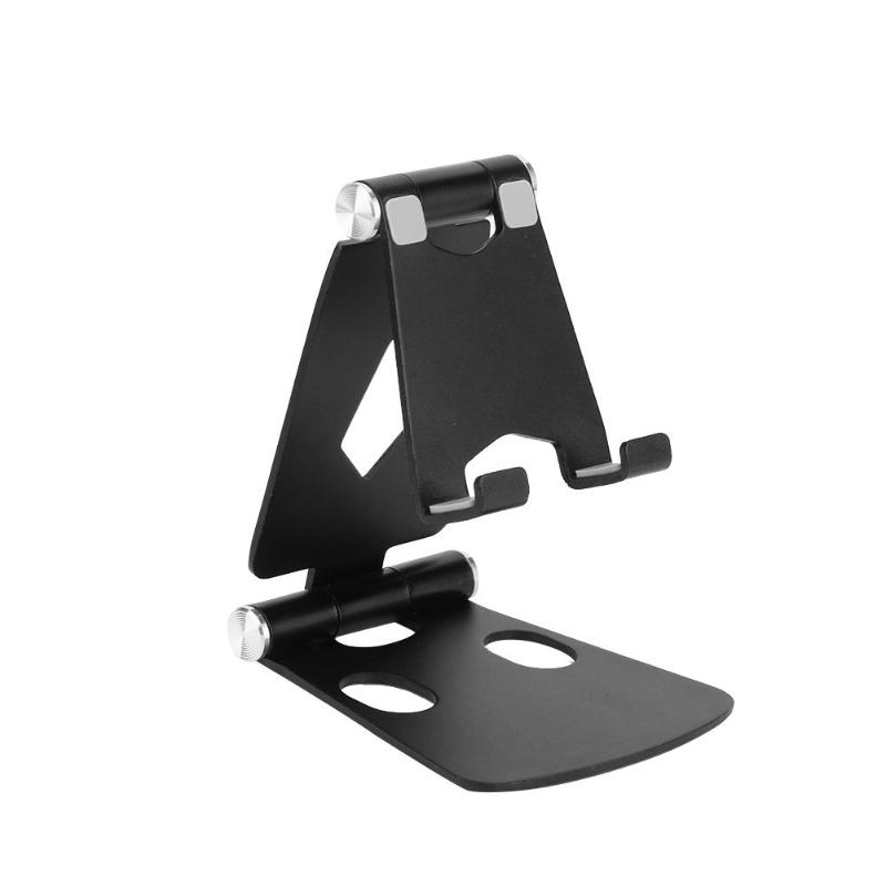Dual Foldable Mobile Phone Holder Stand Aluminium Alloy Metal Tablet Stand Universal Holder for iPhone Samsung Phone/for ipadDual Foldable Mobile Phone Holder Stand Aluminium Alloy Metal Tablet Stand Universal Holder for iPhone Samsung Phone/for ipad