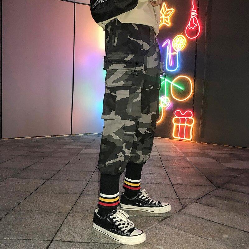 De Pantalon 2xl Décoration Hip Impression Hiver Hommes camouflage Black Camouflage 2018 Joggers Taille Poche Casual Hop Coton M Style 0FHqEpWwx