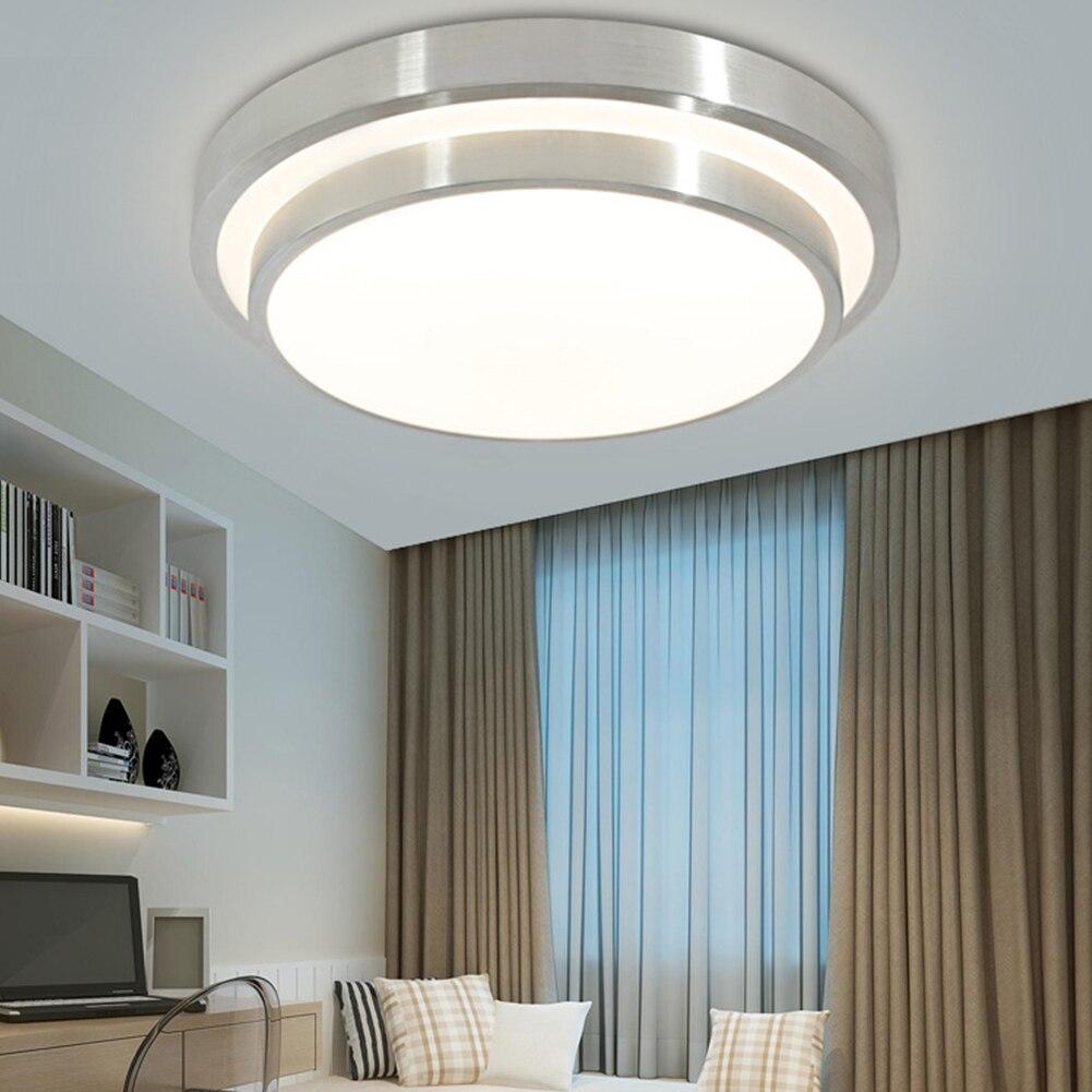 12 W Led Moderne Acryl Lichtmetalen Ronde Led Lamp. Led Licht. Plafond Verlichting. Led Plafondlamp. Plafond Lamp Voor Foyer Slaapkamer Decoratie