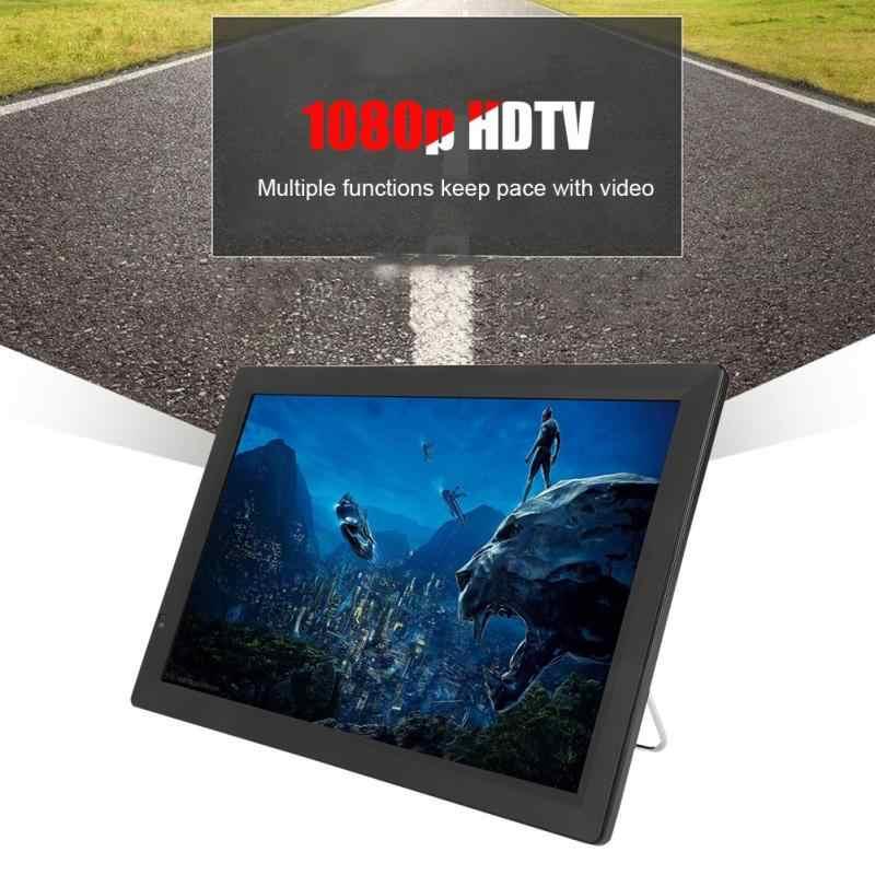 14 дюймовый DVB-T/T2 Цифровое ТВ высокой четкости в ТВ 1080 P Портативный автомобильный телевизор 1280*800 TFT-LED Смарт ТВ Поддержка HDMI USB SD-карты штепсельная вилка стандарта США; Новинка