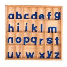 Montessori Alphabet with Box 26 Alphabet Letter Writing Learning Educational Toy Christmas Anniversary Gift for Children Kids