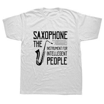 Present Idea Saxophone Musician T-Shirt10