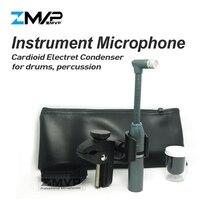 ZMVP Professional BETA98AMP Гибкая гусиная шея BETA98 кардиоидный конденсаторный микрофон для Toms Snare барабаны ударные
