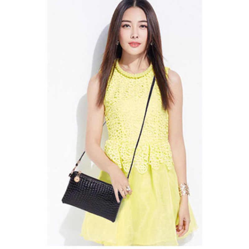 2019 nouvelle marque de mode petite et Simple femmes en cuir sac à bandoulière sac à main sac à main Messenger bandoulière