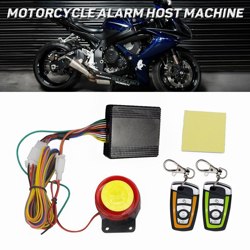 Motorcycle Alarm System Anti-theft Security Alarm Protection Remote Control 150M Universal Scooter Chopper Motor Bike