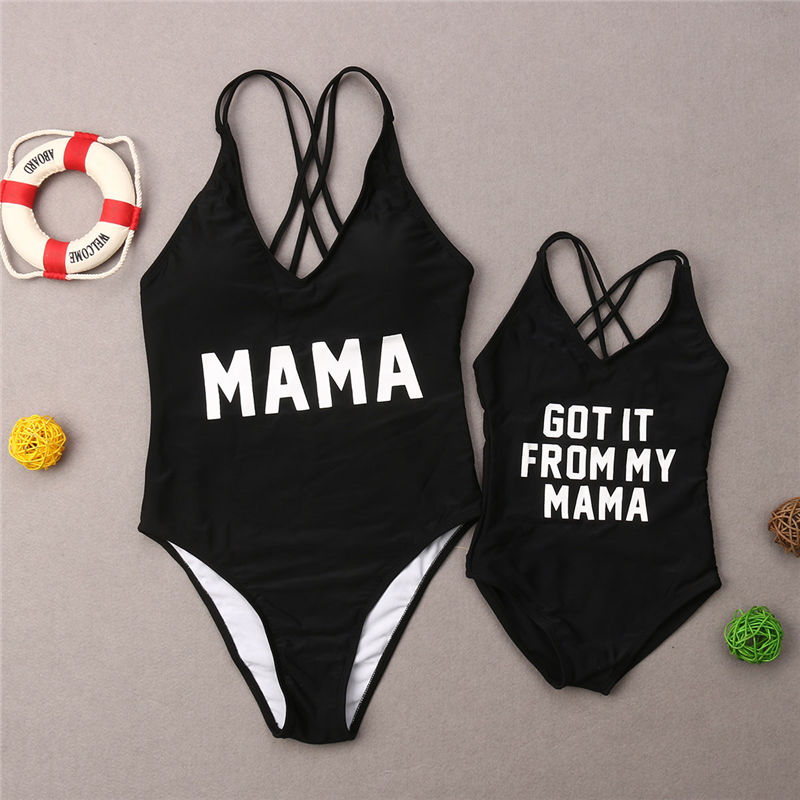 20d5822fed9a7 Buy mother daughter matching swimsuits and get free shipping on  AliExpress.com