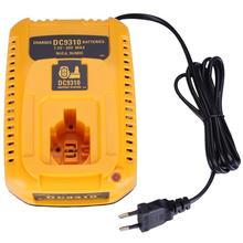 Штепсельная Вилка европейского стандарта для зарядного устройства Dewalt DC9310 7,2 V 18V Nicad & Nimh батарея DW9057 DC9071 DC9091 DC9096 Batteia зарядное устройство