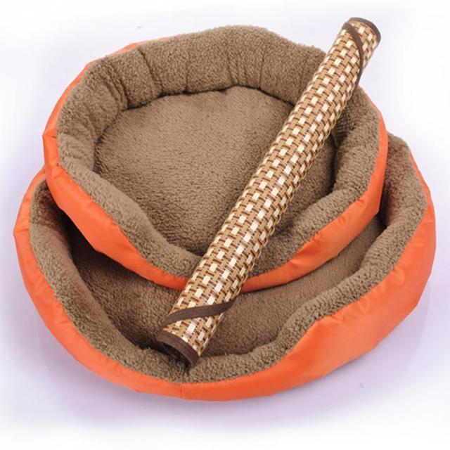Di Forma ovale Cozy Dog Pet Estate di Sonno Zerbino Letto Cucciolo Cagnolino Pad