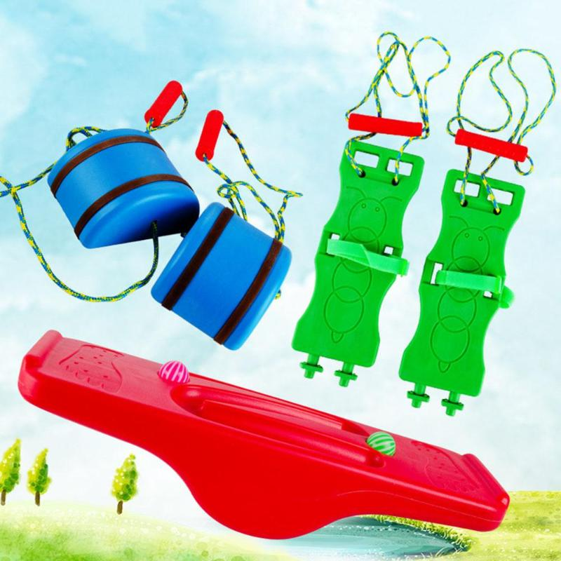 Rocking Balance Board Training Equipment Seesaw Child Indoor Outdoor Activity Kindergarten Toys Sensory Integration Accessories