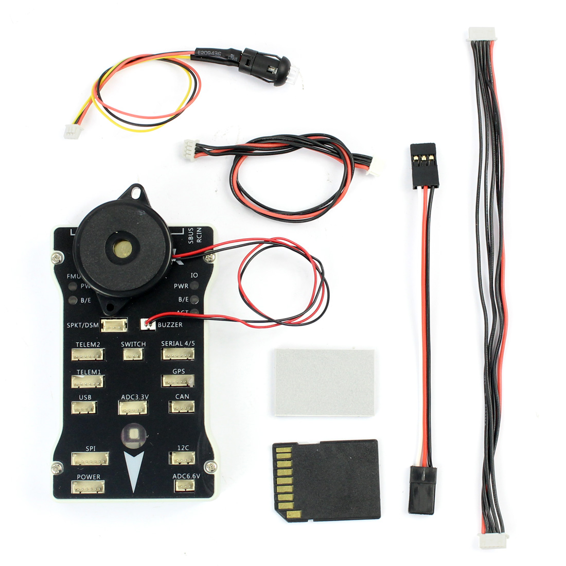 Unassembled RC Drone Kit With Color LED lamp And Micro SD to Record Flight Data