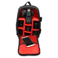 Upgrade Waterproof multi functional Digital DSLR Camera Video Bag with Rain Cover SLR Camera Bag PE Padded for Photographer