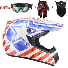 Супер легкий шлем мотоциклетные гоночный велосипедный шлем мультфильм детей ATV для езды на велосипеде по бездорожью и склонам MTB DH крест шлем capacetes