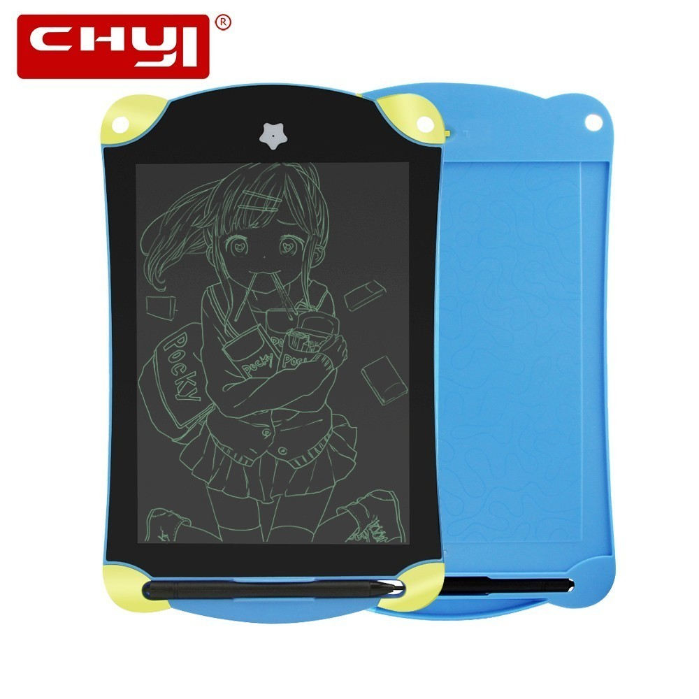 CHYI Cute Cartoon 8.5 Inch LCD Writing Tablet Portable Handwriting Pads Paperless Electronic Memo Drawing Board With Stylus Pen