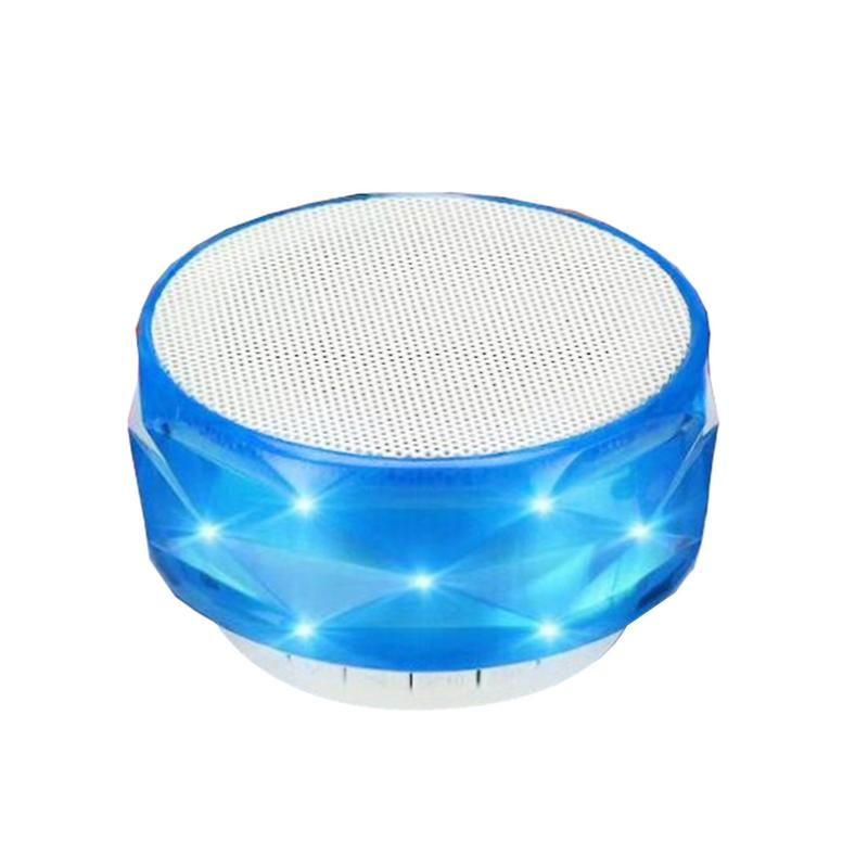 Image 2 - Portable Player Bluetooth Speaker Mini Wireless Bluetooth Subwoofer MP3 LED TF USB Stereo Sound Surrounding Outing Sports Device-in Portable Speakers from Consumer Electronics