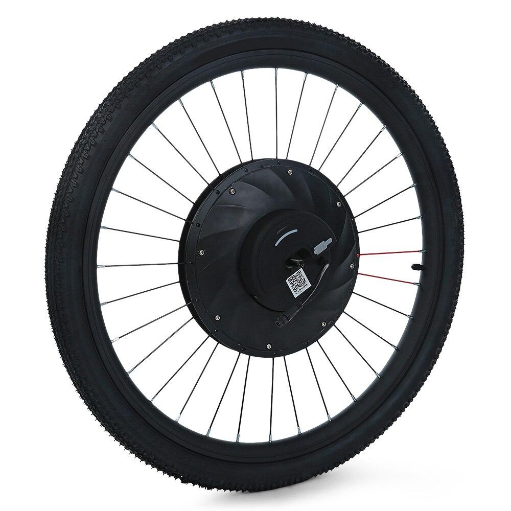 YUNZHILUN 36 V-X iMortor 26 pouces Bluetooth 4.0 Smart Électrique roue avant pour Vélo Moto 36 V Grande Capacité batterie