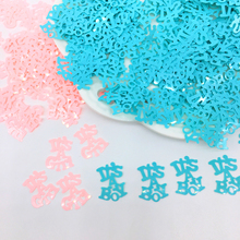 Its A Boy Blue Christening Party Confetti It Is Girl Baby Shower Sprinkles Scatters Table Decoration