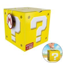 Творческий Super Mario Bros блок копилка с монетой звук Копилка заставка оловянные Пазлы для детей