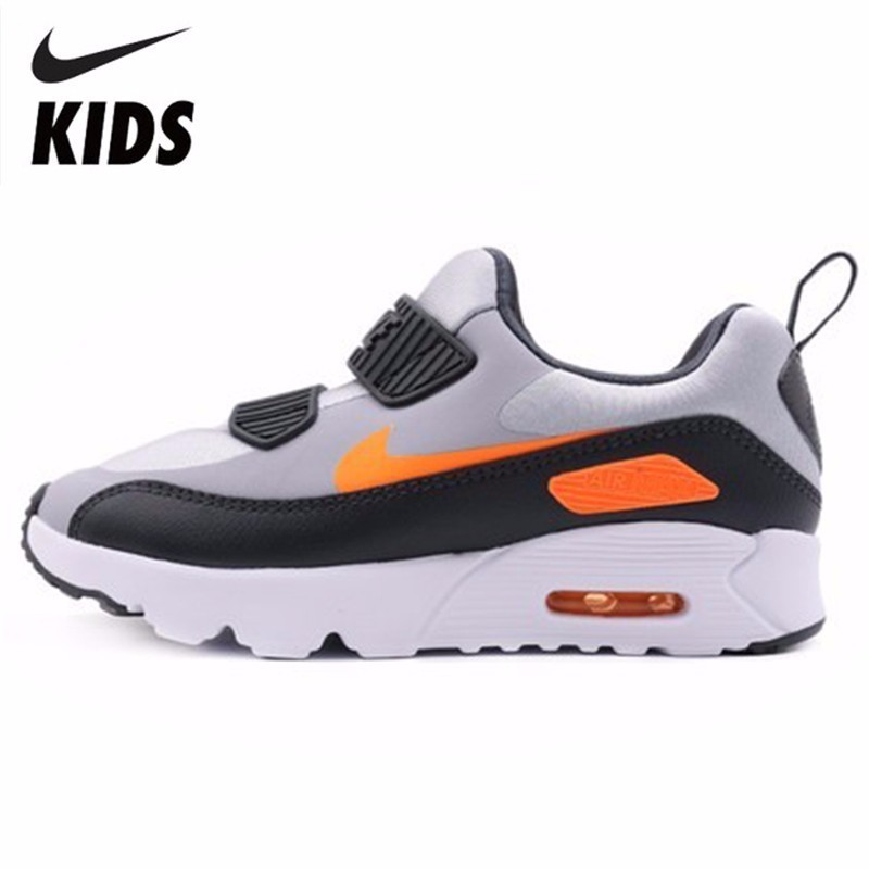 hot sale online c34f4 2d241 Nike AIR MAX TINY 90 Children Magic Subsidies Light Motion Boy And Girl  Casual Shoes Running